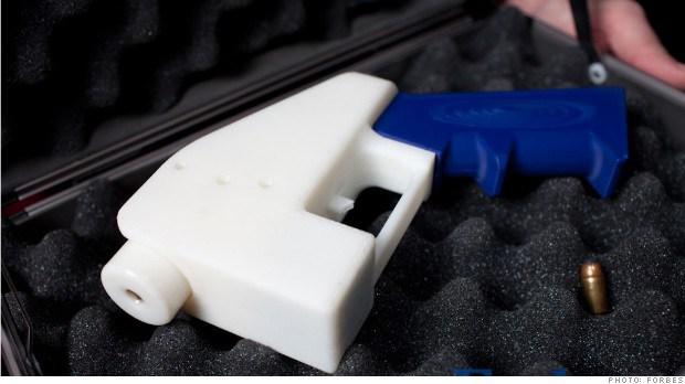 3D Printed Handgun